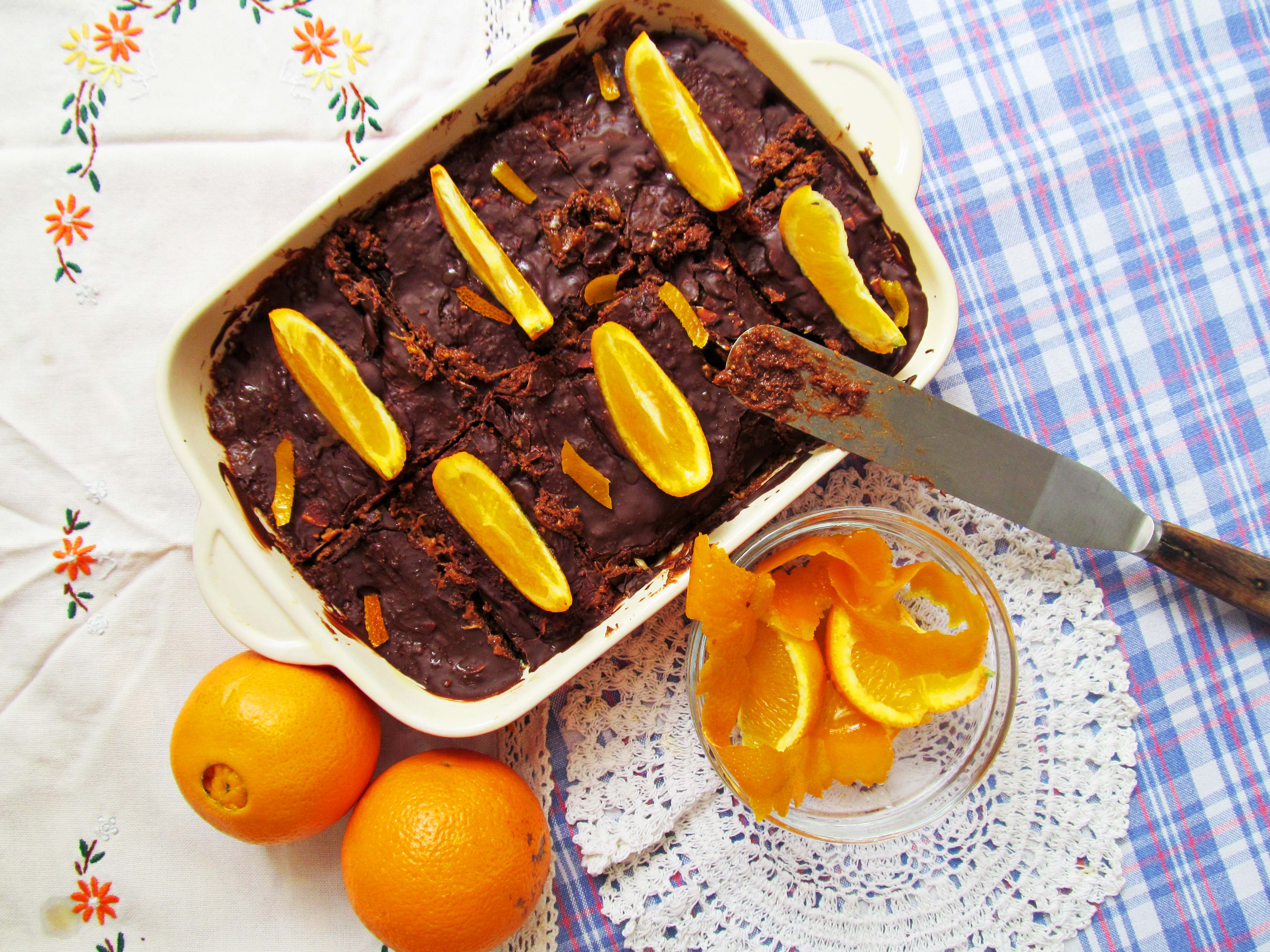 jessthetics / vegan orange tiffin