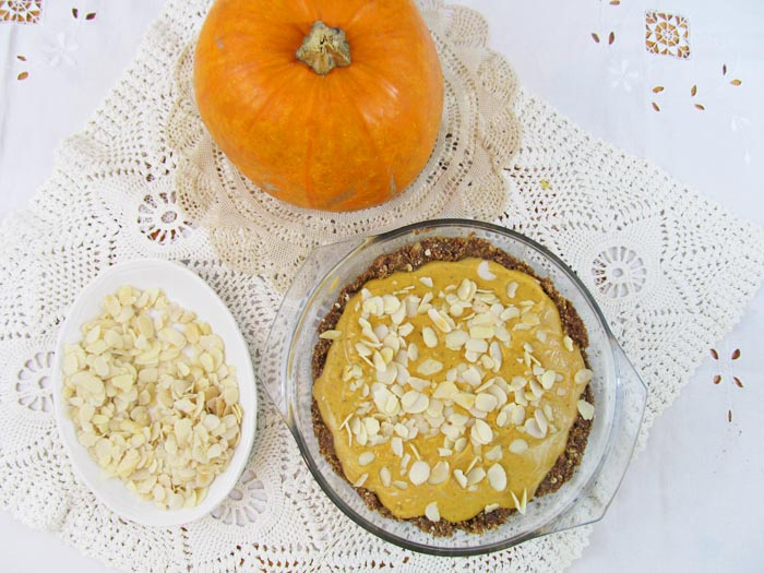 Jessthetics / Nutty Vegan Pumpkin Pie