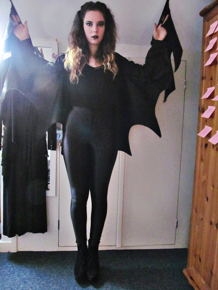 jessthetics / DIY bat costume