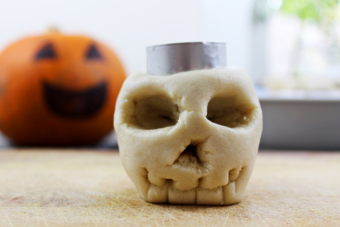 Jessthetics / Dalt Dough Skeleton Candle Holders
