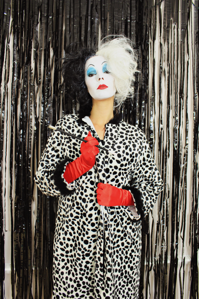 DIY Cruella Costume