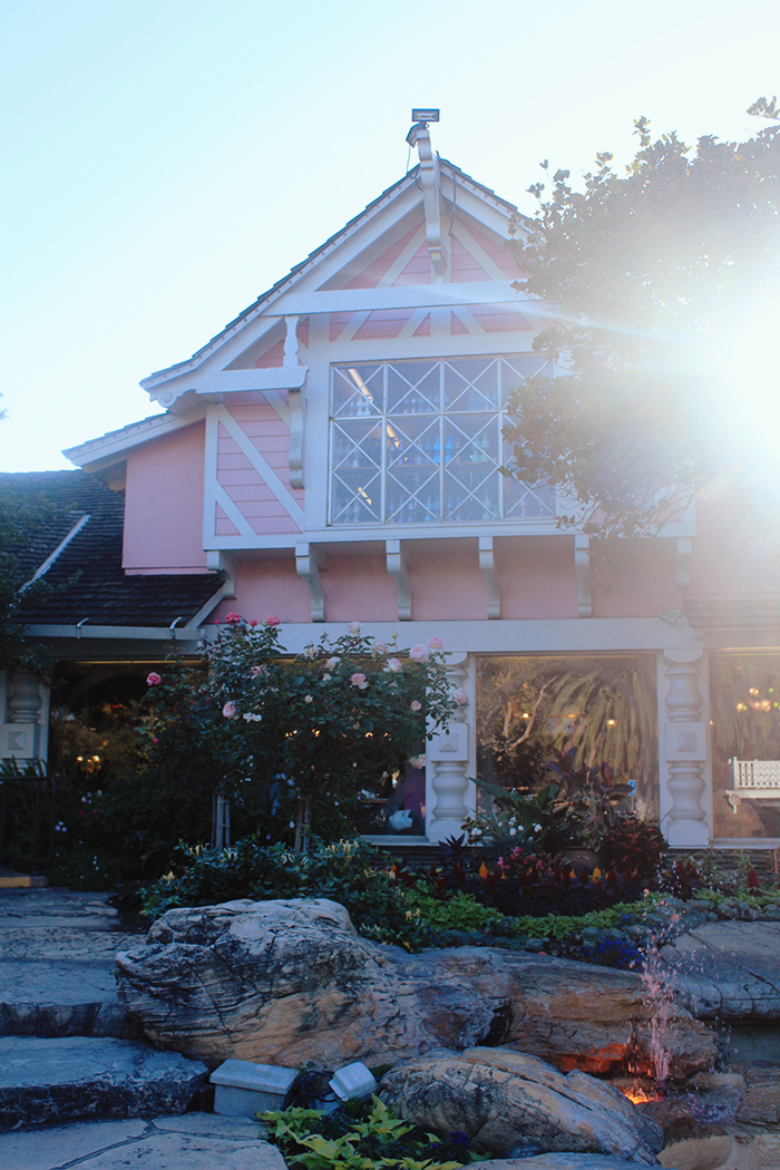 Exterior of the Madonna Inn